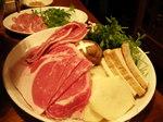 豚と羊と野菜